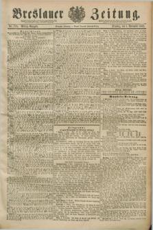 Breslauer Zeitung. Jg.70, Nr. 776 (5 November 1889) - Mittag-Ausgabe