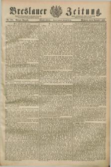 Breslauer Zeitung. Jg.70, Nr. 778 (1889) - Morgen-Ausgabe + dod.