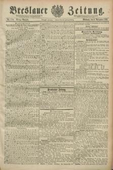 Breslauer Zeitung. Jg.70, Nr. 779 (6 November 1889) - Mittag-Ausgabe