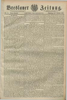Breslauer Zeitung. Jg.70, Nr. 781 (7 November 1889) - Morgen-Ausgabe + dod.