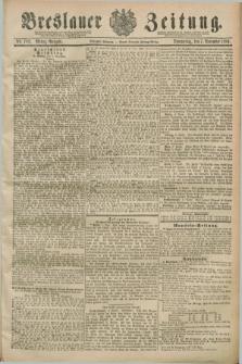 Breslauer Zeitung. Jg.70, Nr. 782 (7 November 1889) - Mittag-Ausgabe