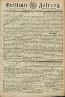 Breslauer Zeitung. Jg.70, Nr. 783 (7 November 1889) - Abend-Ausgabe