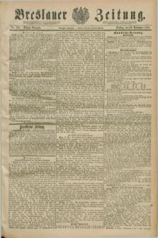 Breslauer Zeitung. Jg.70, Nr. 821 (22 November 1889) - Mittag-Ausgabe