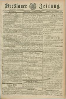 Breslauer Zeitung. Jg.70, Nr. 824 (23 November 1889) - Mittag-Ausgabe