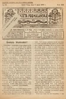 Gazeta Podhalańska. 1925, nr18