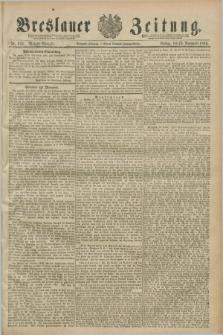Breslauer Zeitung. Jg.70, Nr. 838 (29 November 1889) - Morgen-Ausgabe + dod.