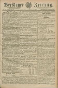 Breslauer Zeitung. Jg.70, Nr. 842 (30 November 1889) - Mittag-Ausgabe