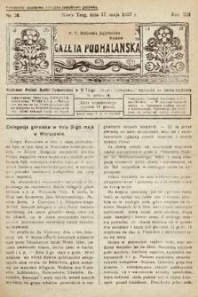 Gazeta Podhalańska. 1925, nr20