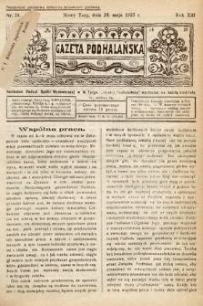 Gazeta Podhalańska. 1925, nr21