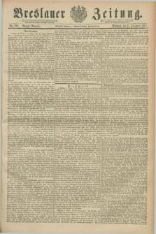 Breslauer Zeitung. Jg.70, Nr. 868 (11 December 1889) - Morgen-Ausgabe + dod.