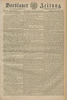 Breslauer Zeitung. Jg.70, Nr. 883 (17 December 1889) - Morgen-Ausgabe + dod.