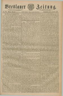 Breslauer Zeitung. Jg.70, Nr. 895 (21 December 1889) - Morgen-Ausgabe + dod.