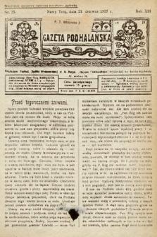 Gazeta Podhalańska. 1925, nr25