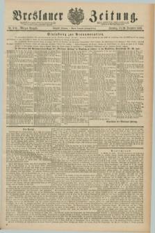 Breslauer Zeitung. Jg.70, Nr. 910 (29 December 1889) - Morgen-Ausgabe + dod.