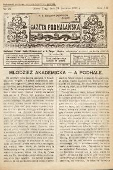 Gazeta Podhalańska. 1925, nr26