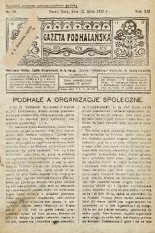 Gazeta Podhalańska. 1925, nr28
