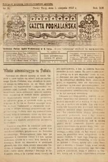 Gazeta Podhalańska. 1925, nr31