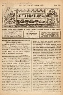 Gazeta Podhalańska. 1925, nr52