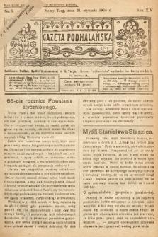 Gazeta Podhalańska. 1926, nr5