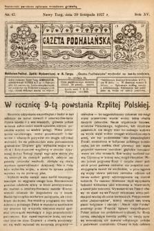Gazeta Podhalańska. 1927, nr47