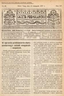 Gazeta Podhalańska. 1927, nr48