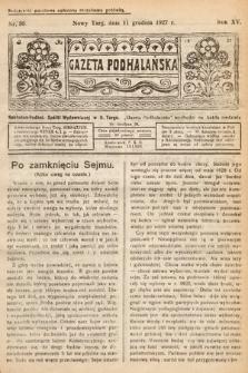 Gazeta Podhalańska. 1927, nr50