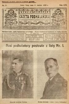 Gazeta Podhalańska. 1928, nr11
