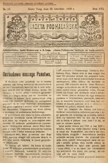 Gazeta Podhalańska. 1928, nr18