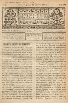 Gazeta Podhalańska. 1928, nr25