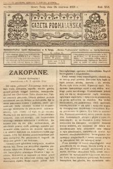 Gazeta Podhalańska. 1928, nr26