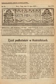 Gazeta Podhalańska. 1928, nr30
