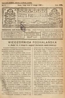 Gazeta Podhalańska. 1929, nr8