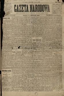 Gazeta Narodowa. 1896, nr1