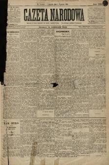 Gazeta Narodowa. 1896, nr2