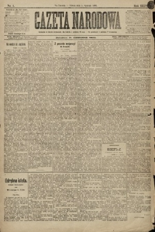 Gazeta Narodowa. 1896, nr4