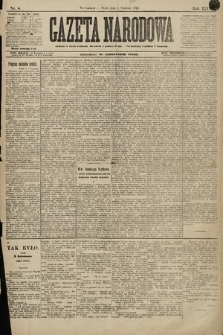Gazeta Narodowa. 1896, nr8