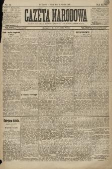 Gazeta Narodowa. 1896, nr11