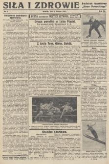"""Siła i Zdrowie : dodatek tygodniowy """"Słowa Pomorskiego"""". 1932, nr6"""