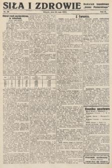 """Siła i Zdrowie : dodatek tygodniowy """"Słowa Pomorskiego"""". 1932, nr19"""