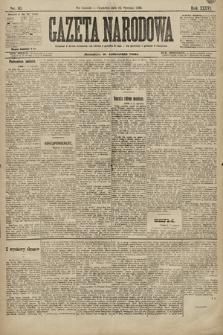 Gazeta Narodowa. 1896, nr16