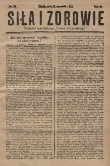 """Siła i Zdrowie : dodatek tygodniowy """"Słowa Pomorskiego"""". 1929, nr36"""