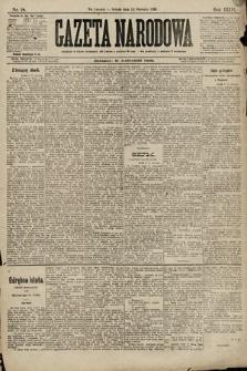 Gazeta Narodowa. 1896, nr18