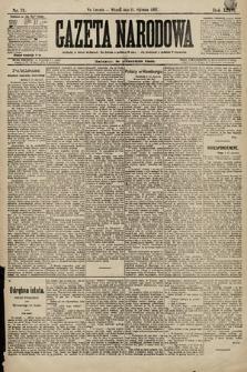 Gazeta Narodowa. 1896, nr21