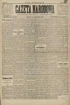 Gazeta Narodowa. 1896, nr22