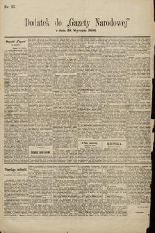 Gazeta Narodowa. 1896, nr27