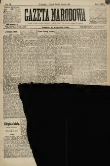 Gazeta Narodowa. 1896, nr28