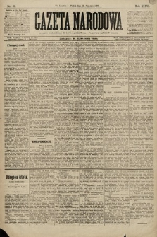 Gazeta Narodowa. 1896, nr31
