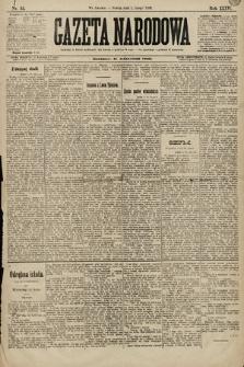 Gazeta Narodowa. 1896, nr32