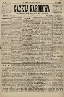 Gazeta Narodowa. 1896, nr43