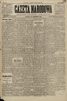 Gazeta Narodowa. 1896, nr44